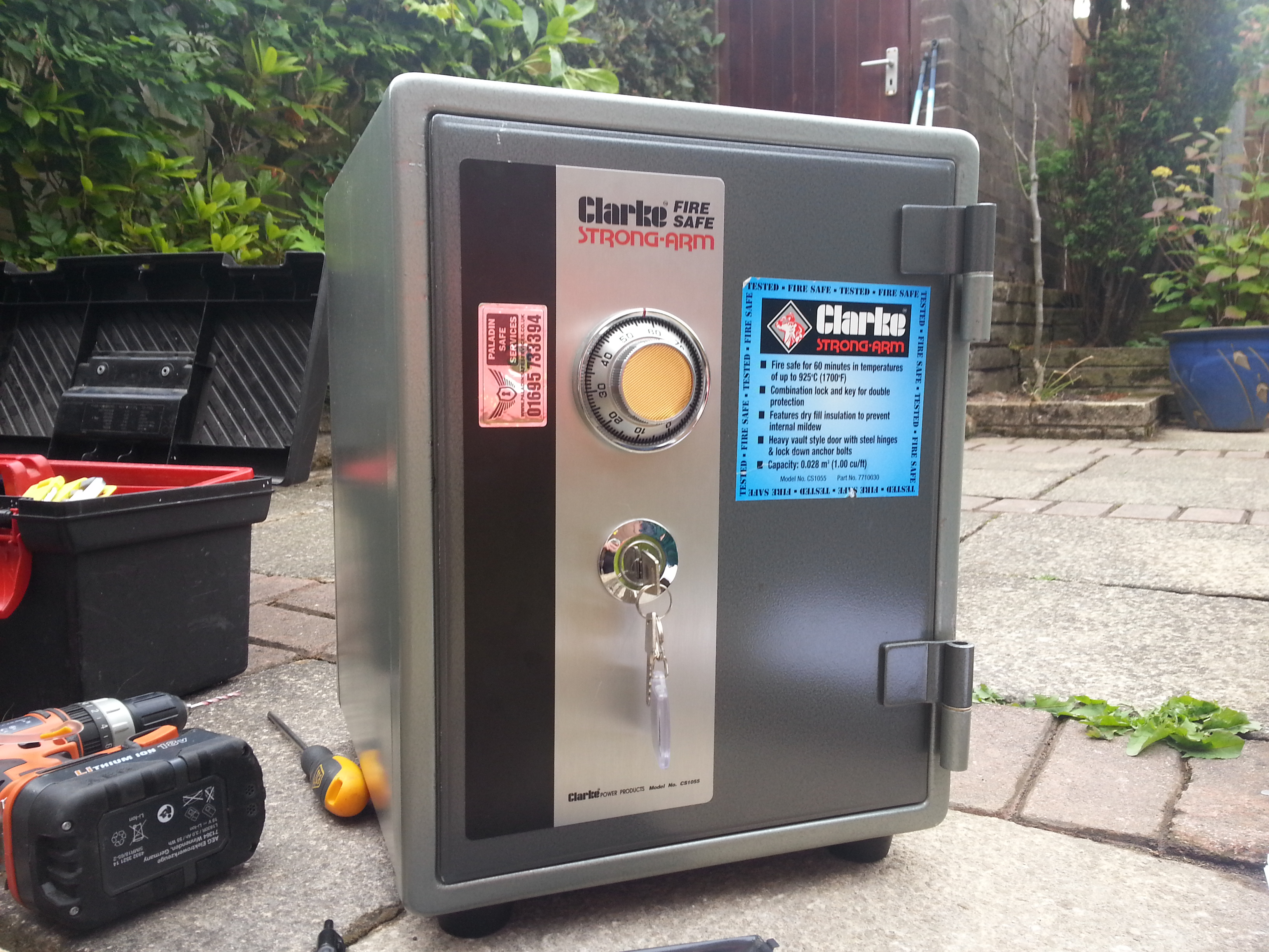 Clarke CS1055 Safe Opening