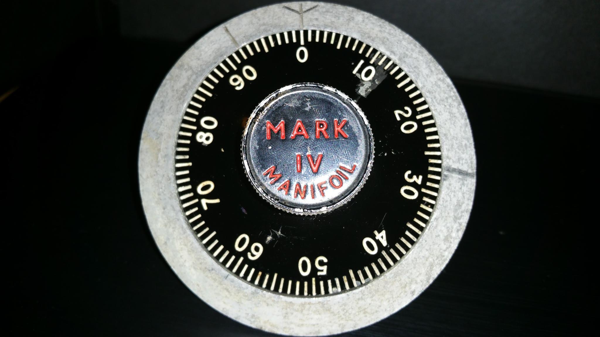 Mark IV Manifoil