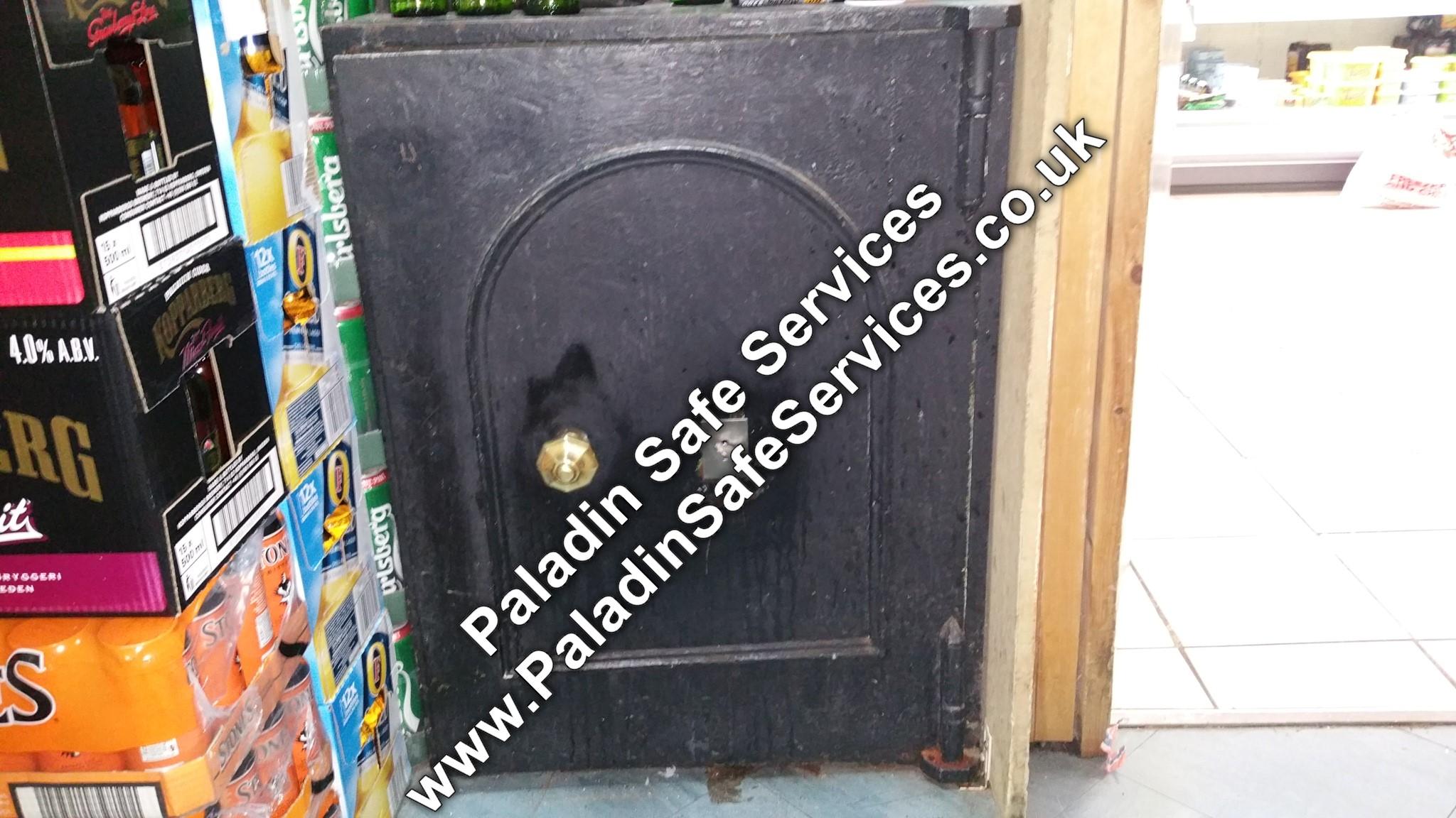 Antique Safe Opening