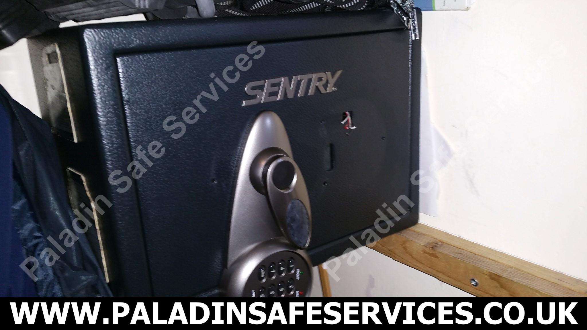 Sentry T2-330 Lost Keys