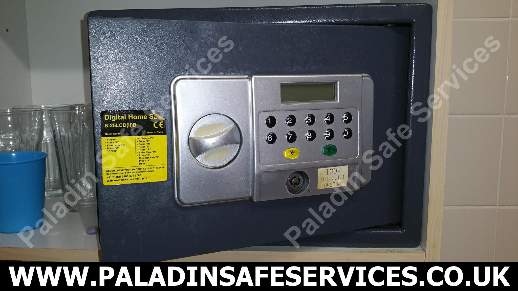 Hilka S-25LCD(II)B Digital Safe Opening - Paladin Safe Services