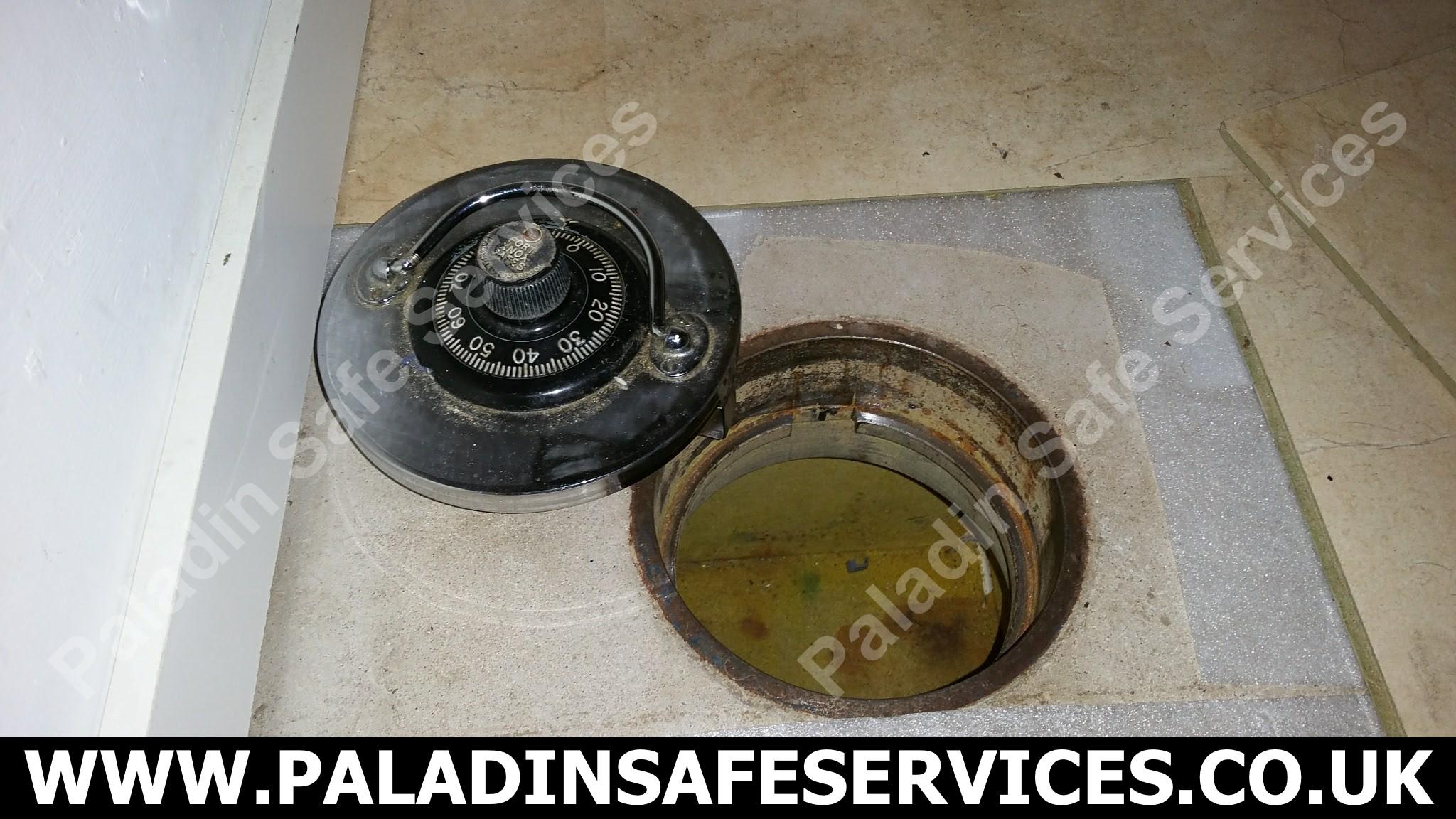 Fort Knox Underfloor Safe With Combination Lock