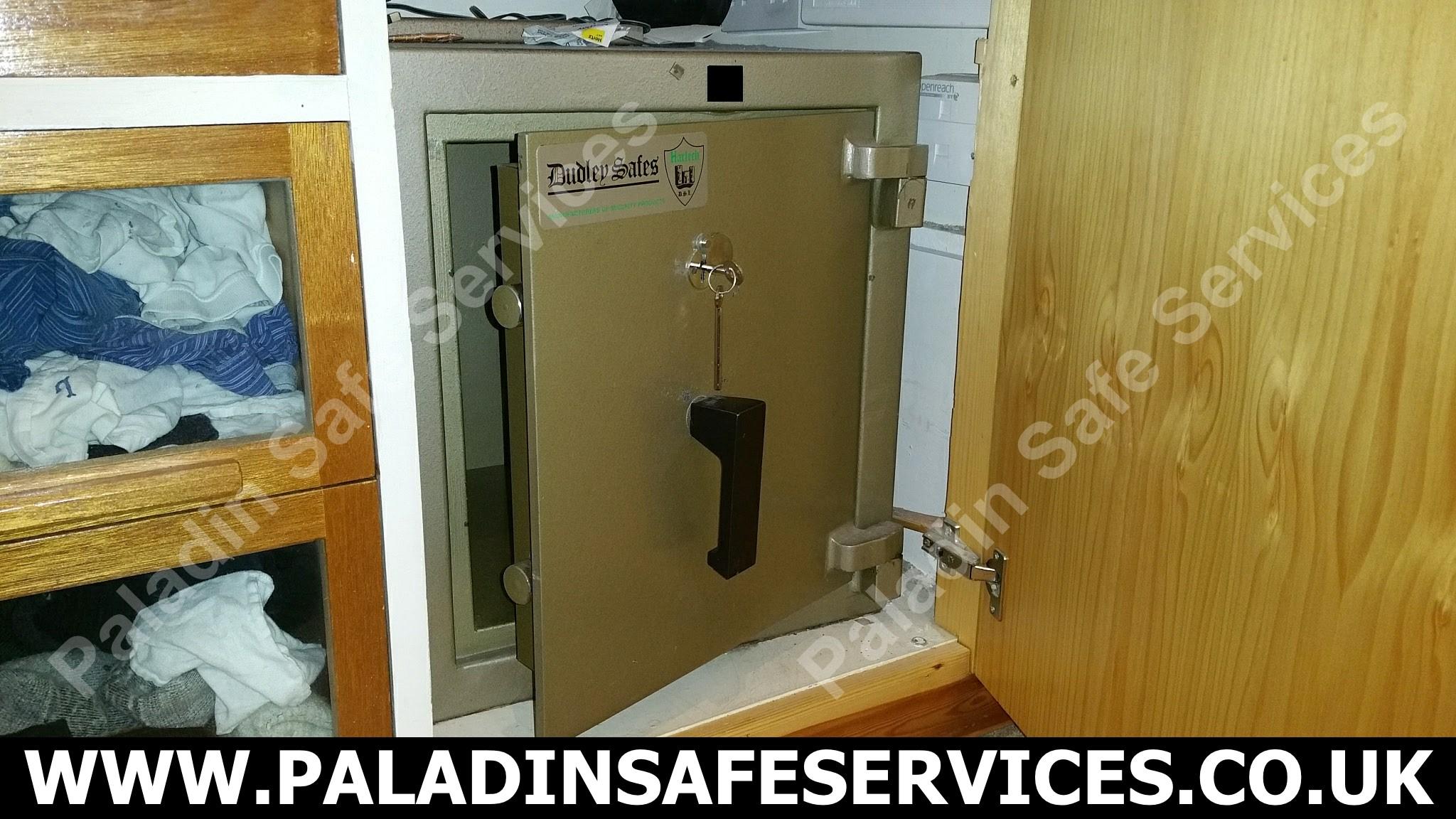 Dudley Harlech Safe Stolen Keys