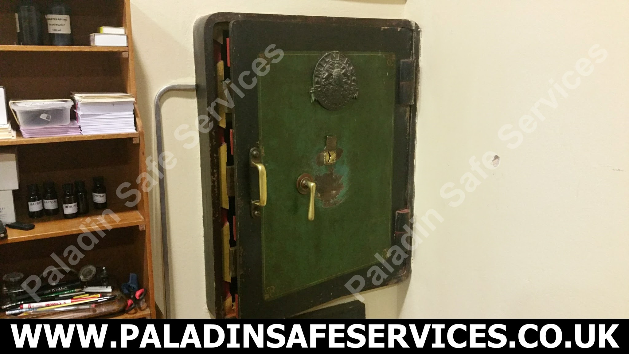 Milners Holdfast Safe Stolen Keys