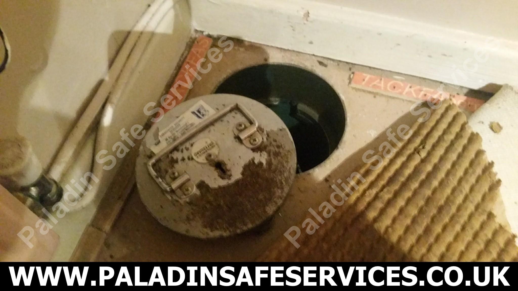 Securikey Safeguard Under Floor Safe Lost Keys