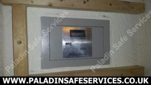 Draper Safe4 Wall Safe Lost Keys