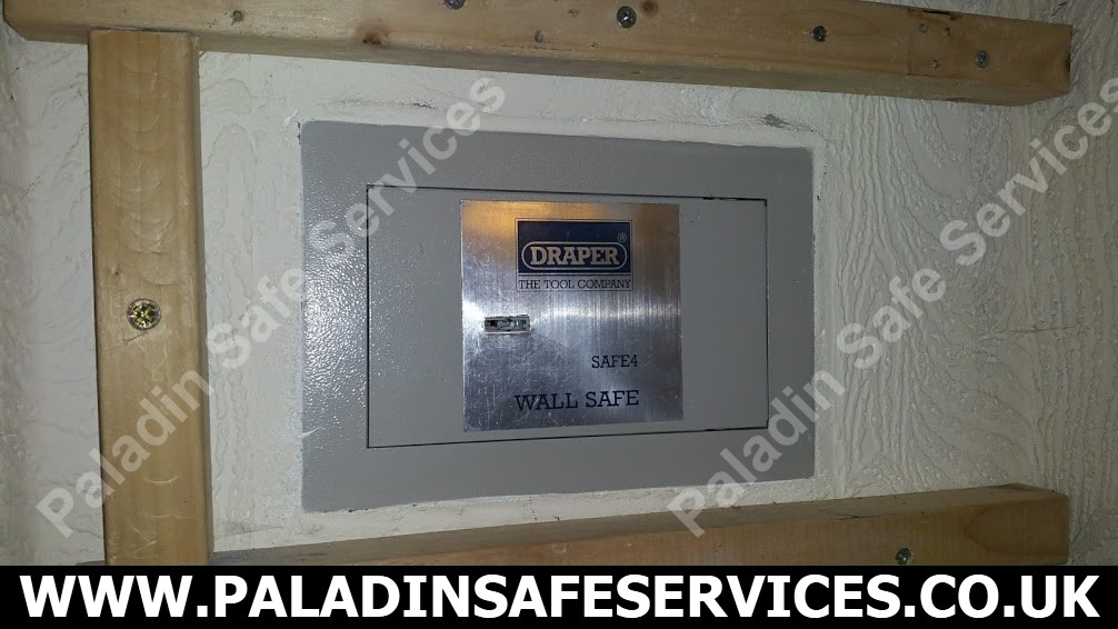 Draper Safe4 Wall Safe Lost Keys