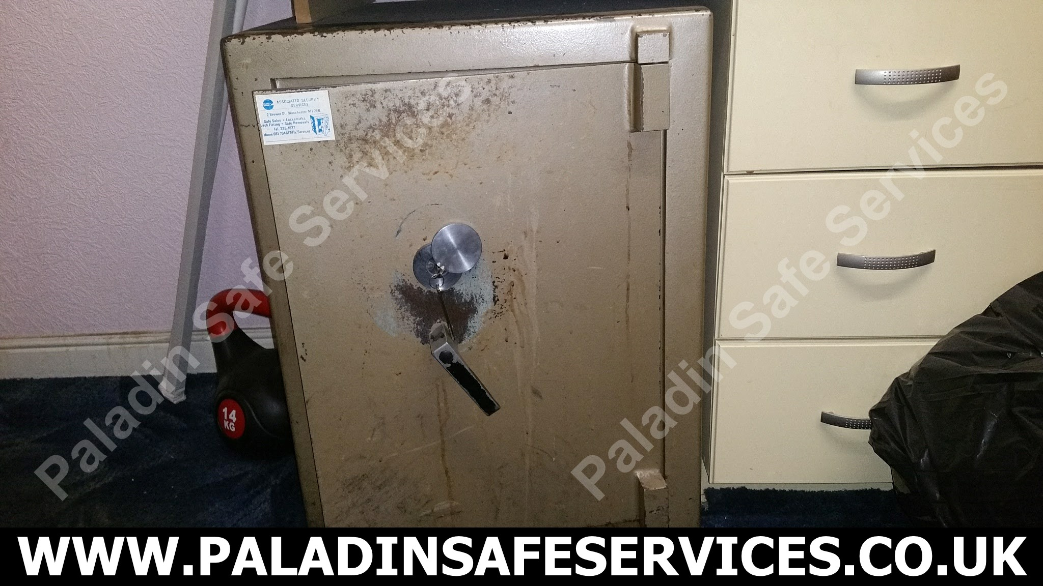 SMP Salopian Safe Lost Keys