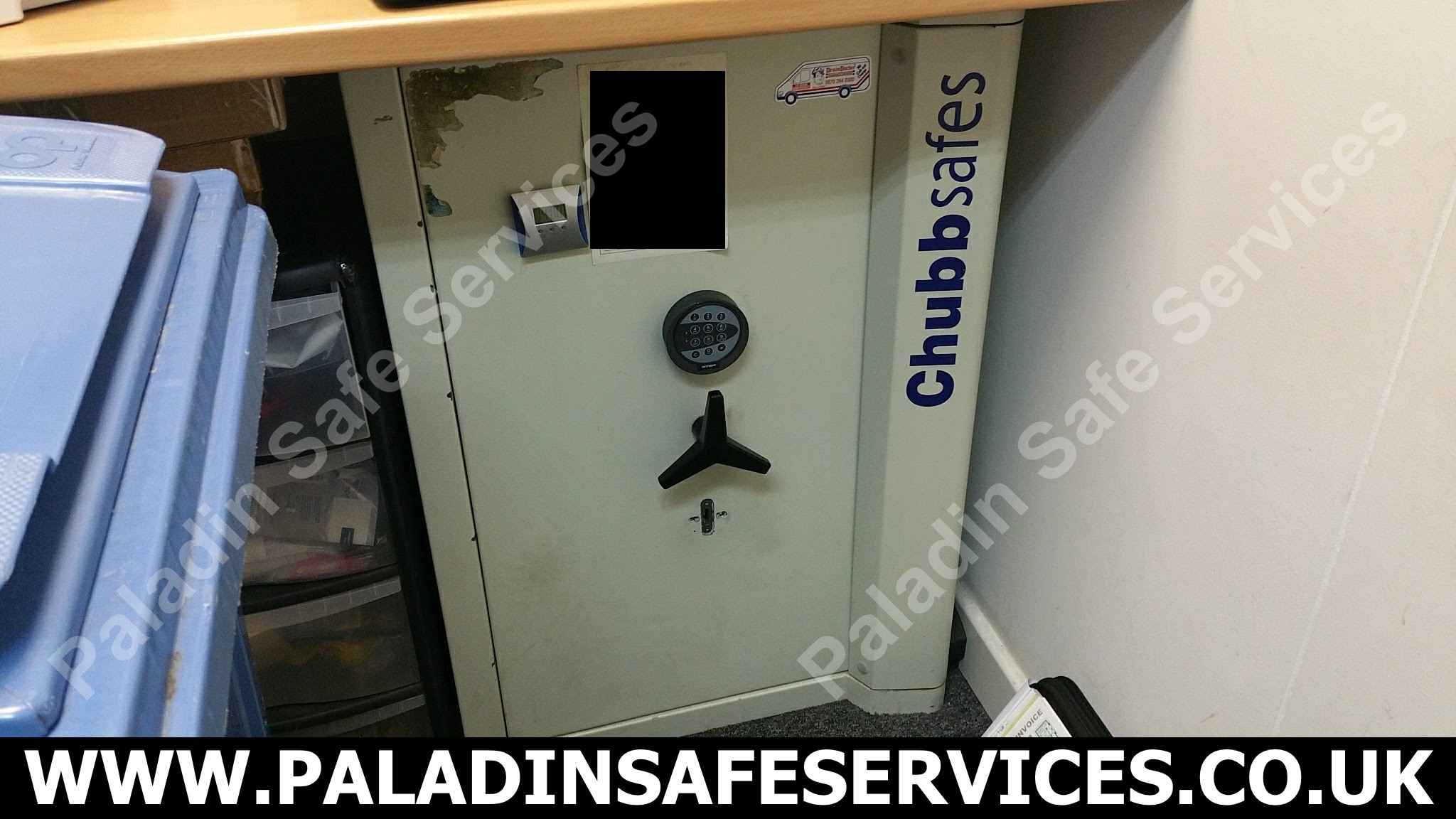 Chubb Sovereign Safe Opening