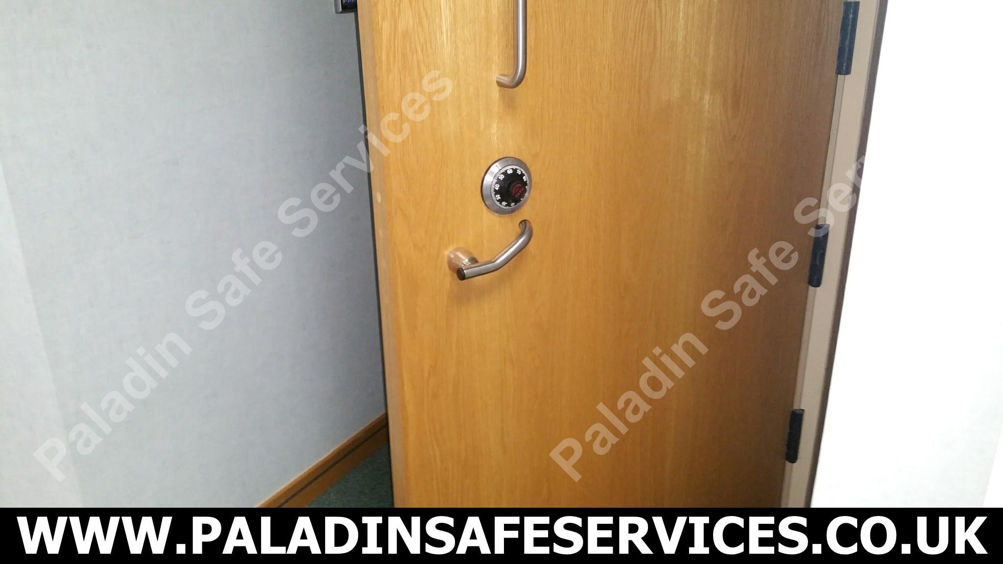 High Security Door Opening