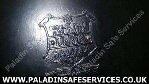 Lumby's Safe Plaque