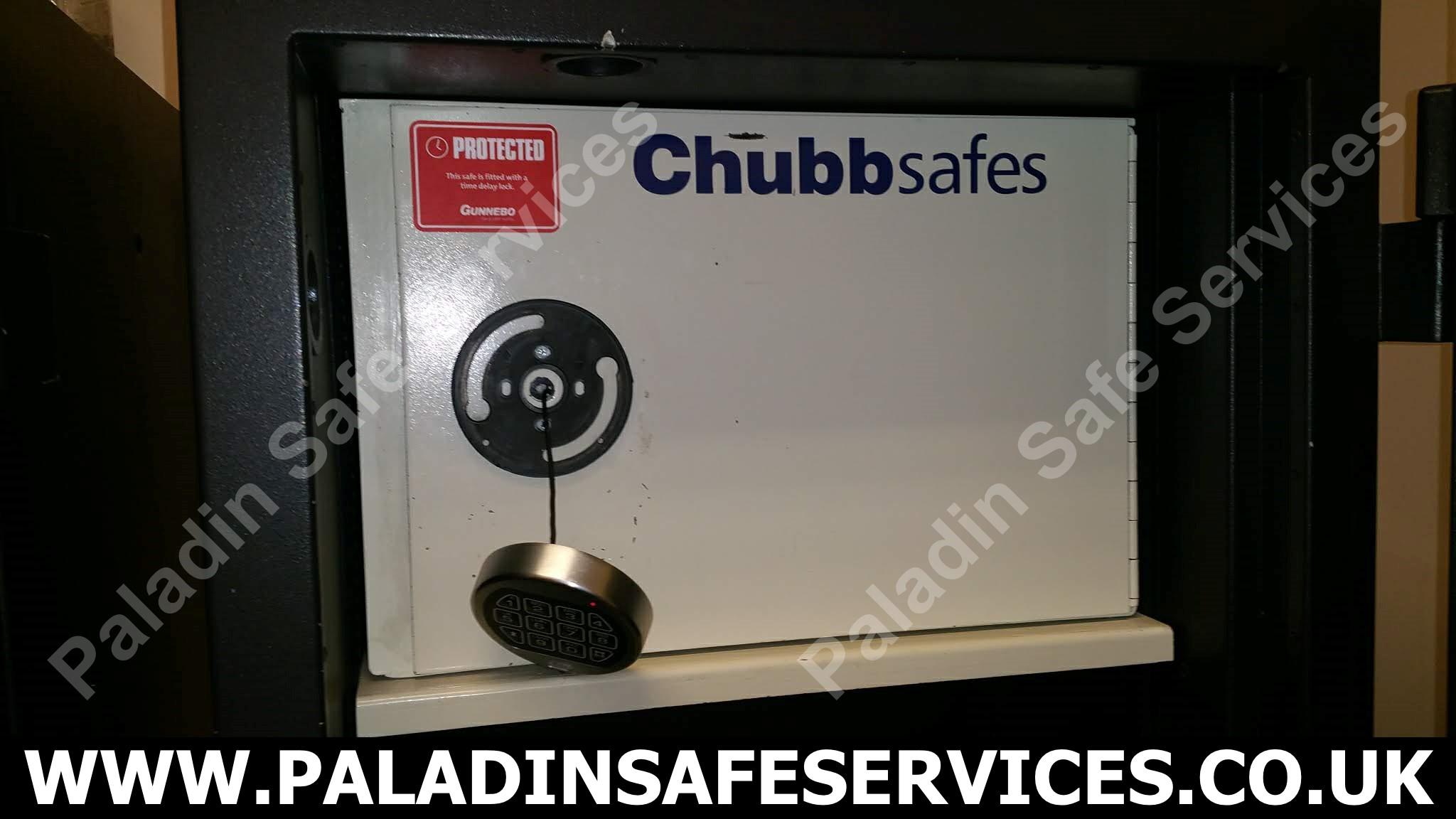 Chubb Internal Coffer Opening