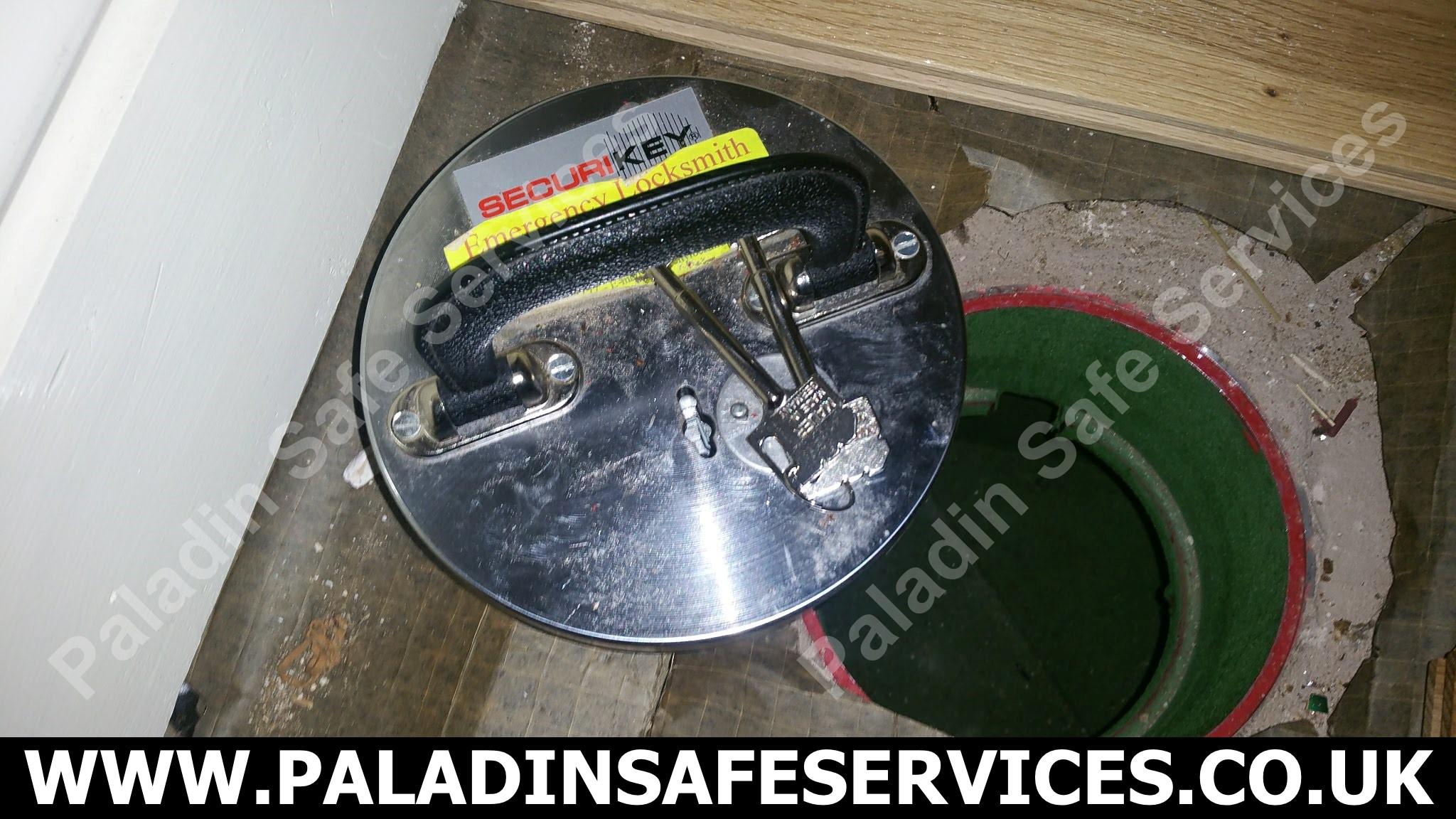 Securikey Under Floor Safe No Keys