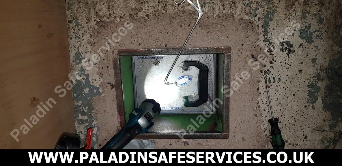 Burton Watchman Under Floor Safe Safecracker