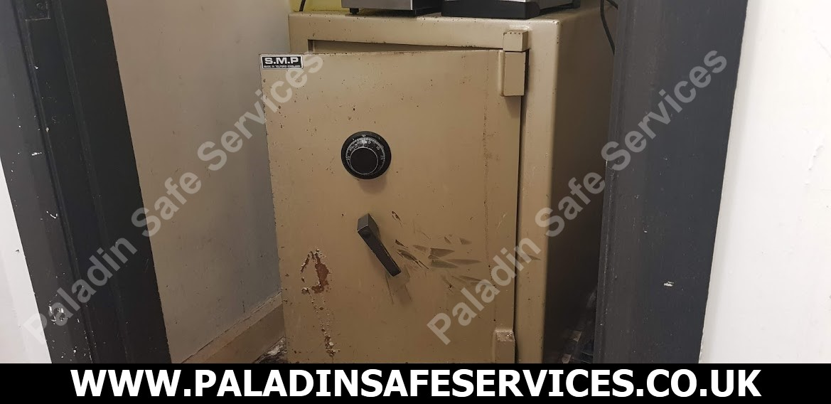SMP Salopian Safe Lost Combination Safecracker Chester