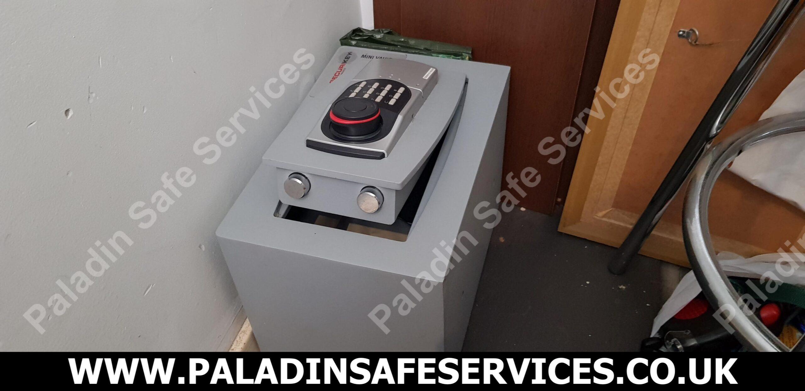 Securikey Mini Vault Lost Combination Wigan Safecracker