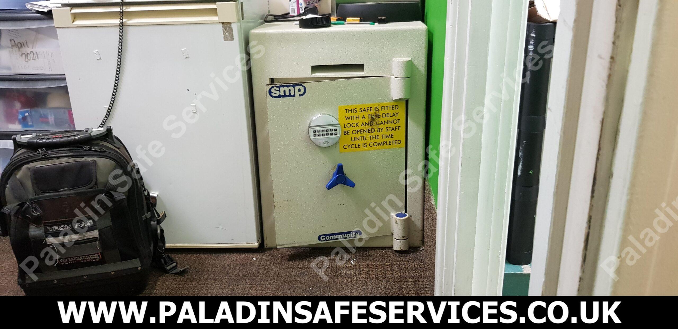SMP Community Safe Failed Combination Lock Liverpool