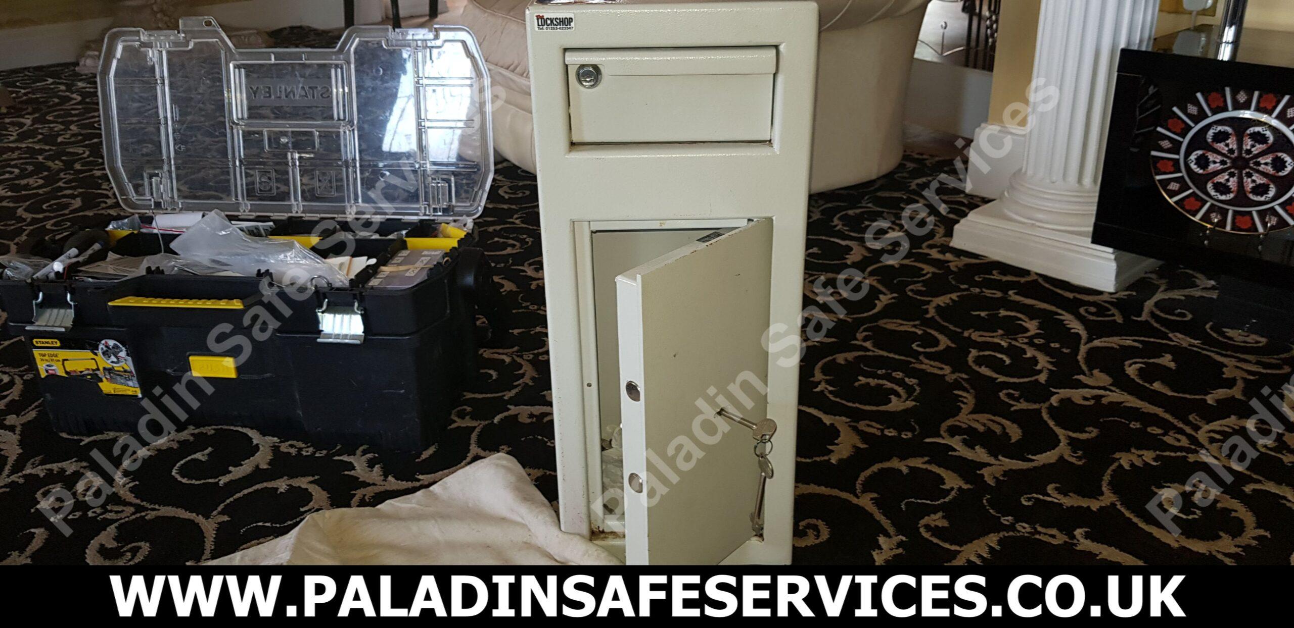 De Raat Protector Deposit Safe Lost Keys
